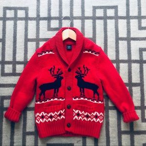 Gap Red Sweater Size 5